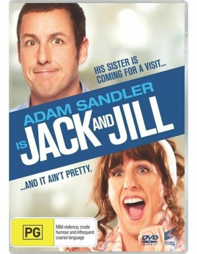 1 of 1 - Jack And Jill - DVD LIKE NEW FREE POSTAGE AUSTRALIA REGION 4