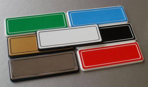 Engraved Name Badge Retail Medical Staff Restaurant 3mm