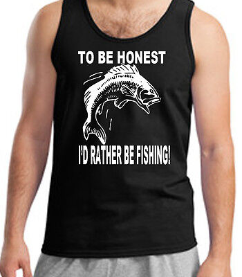 Fishing T-Shirt Fisherman Angling River I/'d Rather Be Fishing Fathers Day Gift