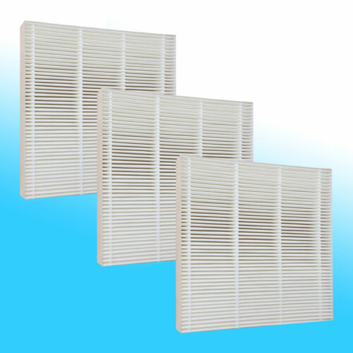 3 HEPA FILTERS FOR FRESH AIR BY ECOQUEST VOLLARA ***WASHABLE***