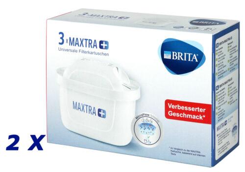 FILTERKARTUSCHEN MicroFlow • 6 x WASSERFILTER-KARTUSCHEN ✿ ✿ 2 x 3 BRITA MAXTRA