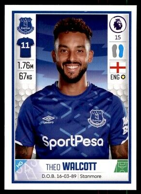 Everton PANINI FOOTBALL 2020 Premier League stickers