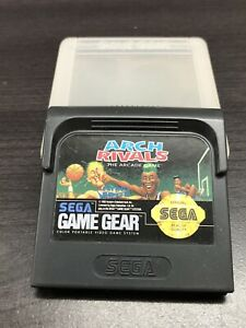 Arch Rivals (Sega Game Gear, 1992) - Cart & Case - Cleaned & Tested, Authentic