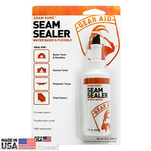 Gear Aid Seam Sure Water Based Seam Sealer - Waterproof ...