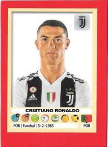 JUVENTUS 790 RONALDO CALCIATORI 2019-2020 Panini Figurine-stickers n