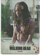 The Walking Dead color Metal Card #18 season 3 part 2 michonne danai gurira