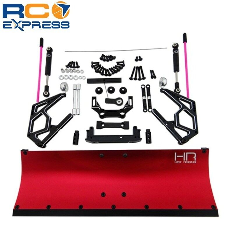 Hot Racing Axial SCX10 SCX10 2 Rojo Aluminio quitanieves II Blade SCX1213P02