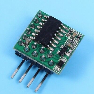 DC 3V-12V AT43 Delay Circuit Module Delay Switch Timer Delay 1s-20h 1500mA