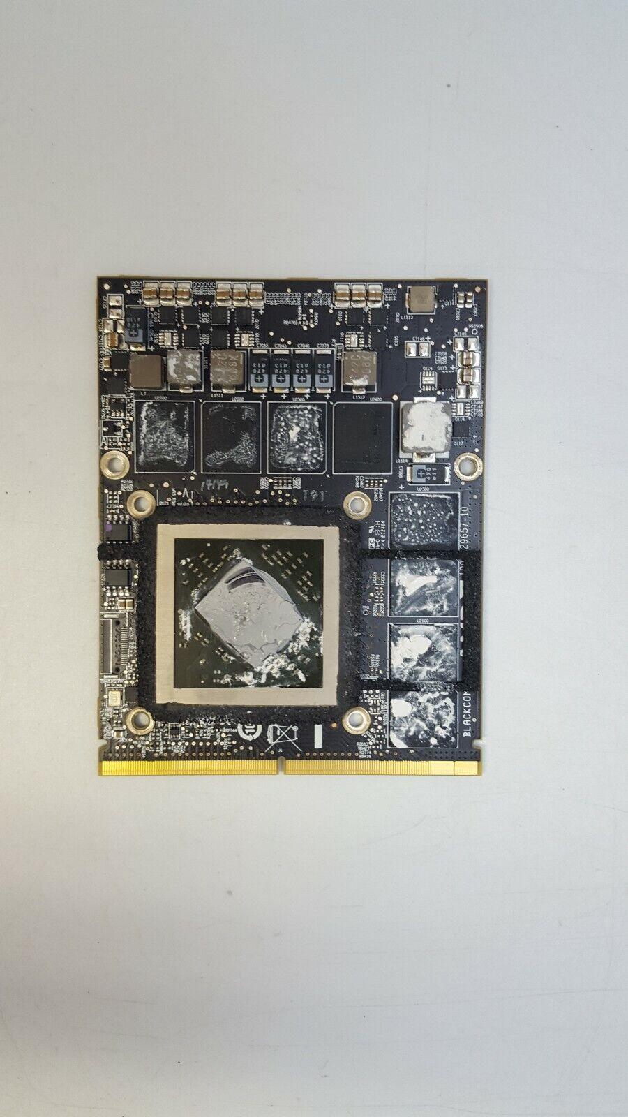 AMD Radeon HD 6970M 1GB Graphics Card 109-C29657-10 for Apple iMac 2011 A1312!