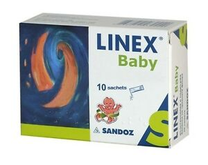 Image is loading Linex,Baby,Powder,20,Sachets,Colic,Flatulence,Diarrhea,