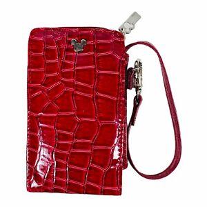Excellent Disney Wristlet Clutch Wallet Card Purse Phone Case ID Holder Zip Bag