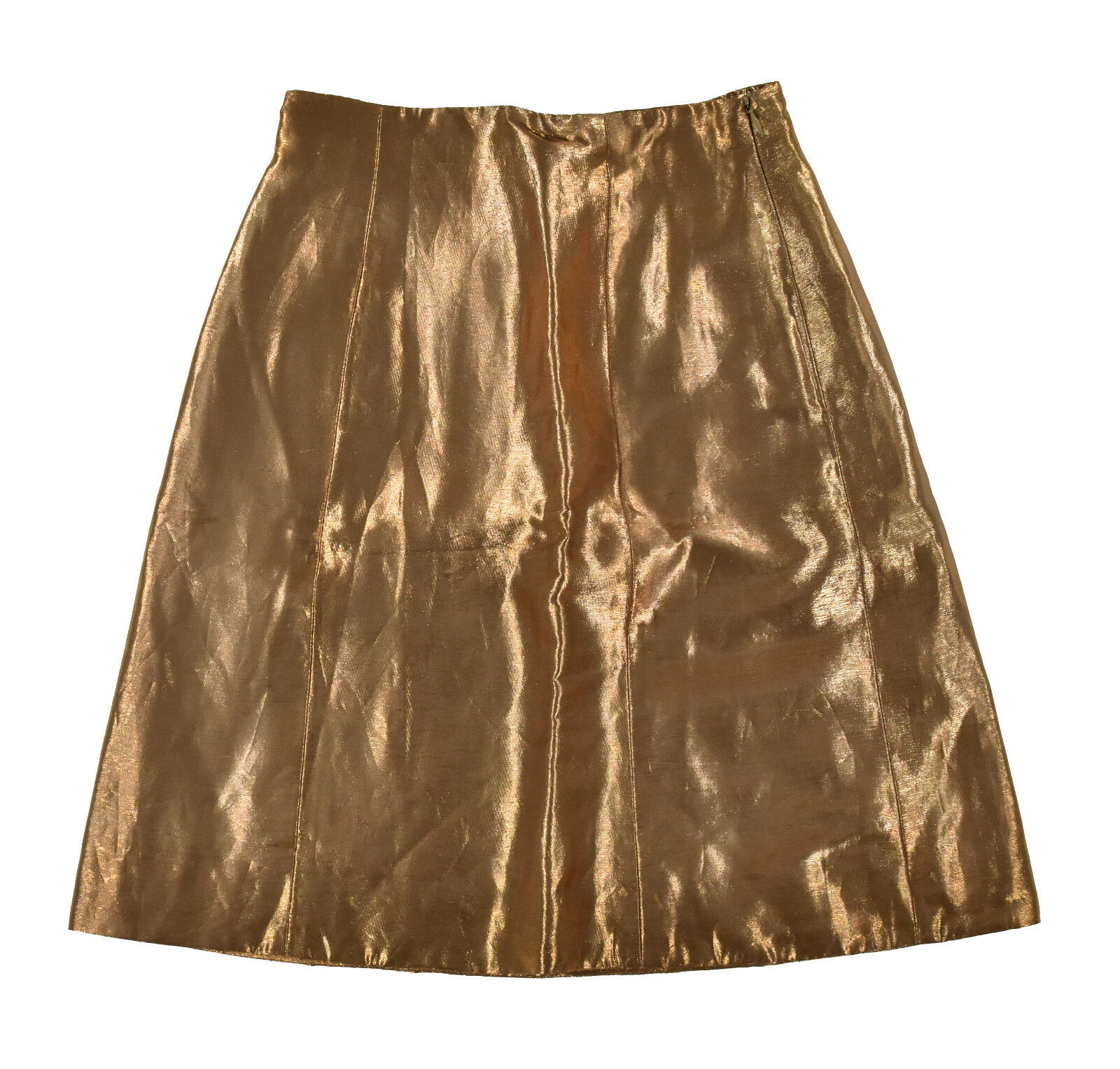 Ralph Lauren lila Label Gold Metallic Rock 4 Neu