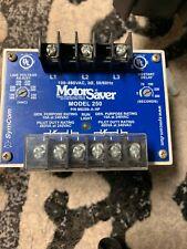 Motor Saver Model 102 Motor Protector  MS102-A 190-480V 3Ph 50//60Hz Used