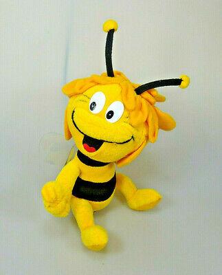 Willi Flip 3x Heunec Biene Maja Plüsch-Figur mit Etikett: Maja Junior 2001