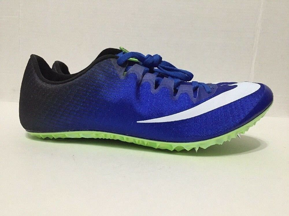 Nike Zoom Superfly Elite Track Field Sprint Spikes blueee 835996-413 Size 9.5-11.5