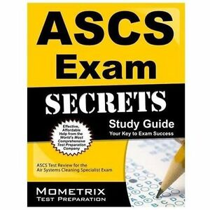 ascs exam secrets study guide ascs test review for the air systems rh ebay com Karastan Rug Cleaning Guide Spanish Grammar Guide