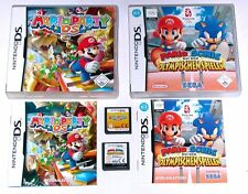 Spiele: Mario & Sonic olym.Spiele + Mario Party / Nintendo DS + Lite