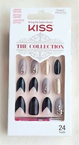 KISS 24 Glue-On HALLOWEEN Nails The Collection MEDIUM ...