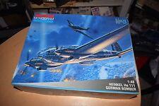 Monogram Model Kit 5509 Heinkel He 111 German Bomber NEW IN BOX