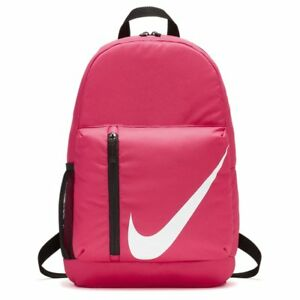 bd10c54c97e0 Image is loading Nike-ELEMENTAL-Pink-Kids-Girls-Sports-Backpack-Rucksack-