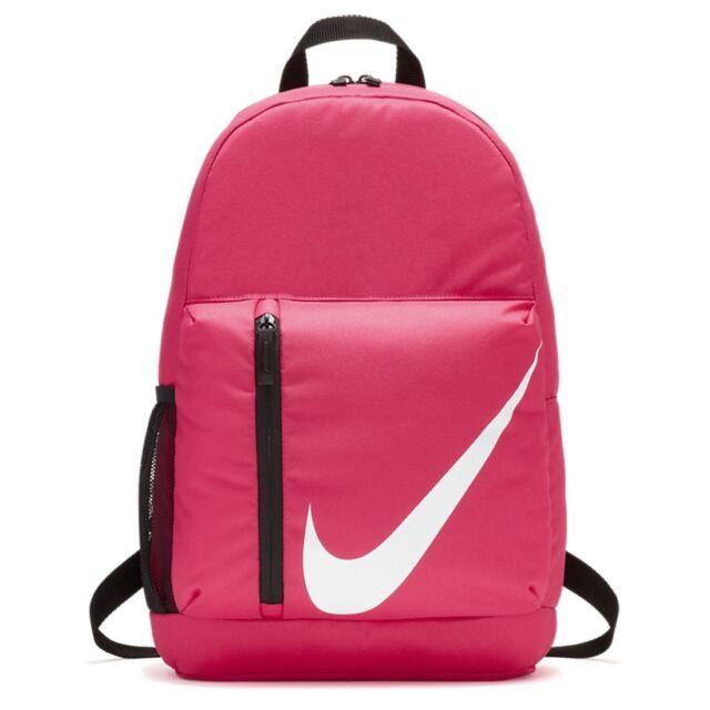 0c2c04d554f33b Nike ELEMENTAL Pink Kids Girls Sports Backpack Rucksack School Bag Junior  Unisex