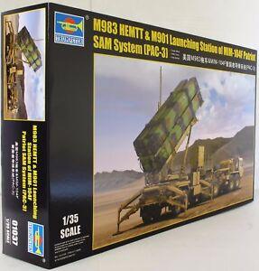 Trumpeter 1:35 01037 Kit de modèle militaire pour station de lancement M983 Hemtt & M901 9580208010373