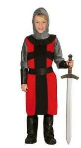 Boys-Feudal-Medieval-Knight-Crusader-Fancy-Dress-Costume-Childs-Outfit