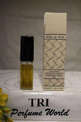 Weil de Weil by Parfums Weil Parfum de Toilette Women Spray 1.0 fl.oz. Vintage | eBay