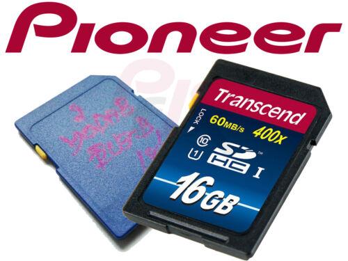 Pioneer Servicekarte SD-Karte Softwarefehler AVIC-F860BT F960BT F960DAB F60DAB