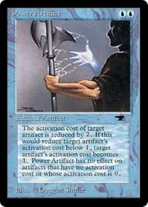 POWER-ARTIFACT-Antiquities-MTG-Blue-Enchantment-Aura-Unc