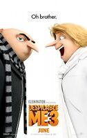 Despicable Me 3 b 27x40 Original D/s Movie Poster