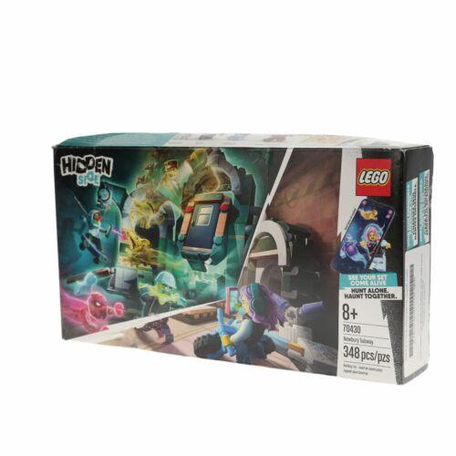 348 Pieces NEW LEGO Hidden Side Newbury Subway Building Kit