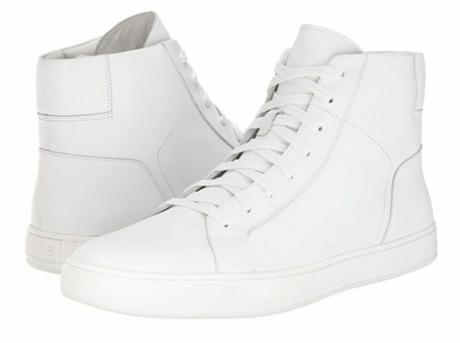 Vince White High Top Mens Sneakers   Size 10.5