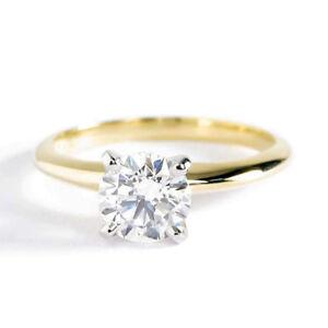 1-00CT-SI2-D-Corte-Redondo-Conico-Anillo-Solitario-Diamante-de-Compromiso
