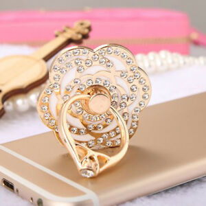 Car-Mobile-Phone-Grip-Holder-Stand-Finger-Ring-Metal-For-Cell-Phone-Universal-DP