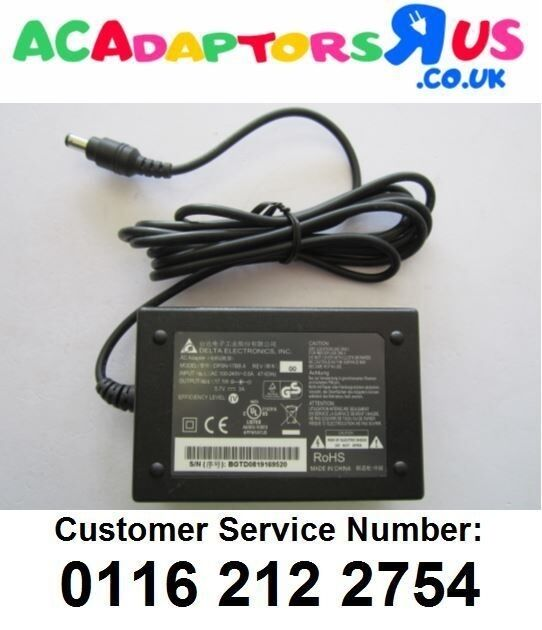 5.7A Mains AC-DC Switching Adaptor Power Supply 5.5mm x 2.1mm 5.5x2.1 PSU Box
