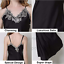 Womens-Ladies-Sexy-Lace-Long-Silk-nightgowns-Stain-Chemise-Sleepwear-Lingerie miniature 4