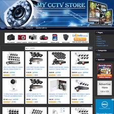 Security Amp Cctv Surveillance Store Affiliate Online Business Website For Sale