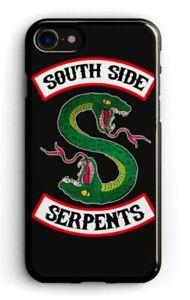 Détails sur Coque Apple Iphone 6 ou 6s silicone souple Riverdale South Side Serpents Noire