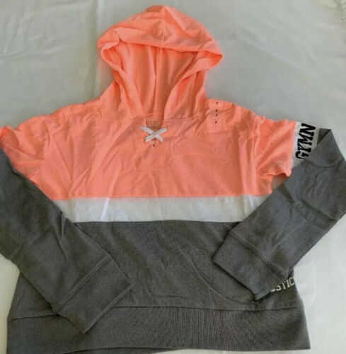Nwt Justice Girls Gymnasts Sports Colorblock Hoodie Size 7