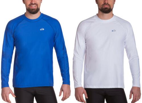 Iq UV 300 Tee-Shirt à Manches Longues Hommes UV Haut Loose Fit (649122) Neuf