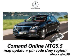mercedes comand online ntg5 5 map update pin code any region ebay. Black Bedroom Furniture Sets. Home Design Ideas