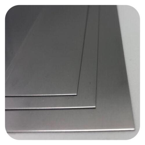 EDELSTAHLBLECH V2A 0,5 mm x 200 mm x 1000 mm  1,4301 EDELSTAHL BLECH FLACHSTAHL