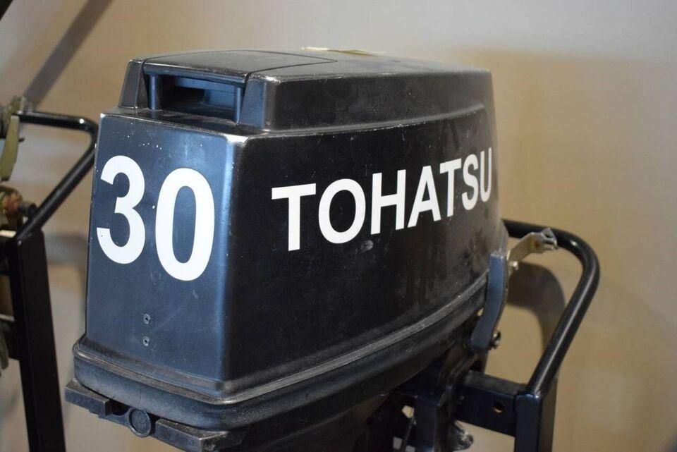 påhængsmotor Tohatsu, hk 30, benzin