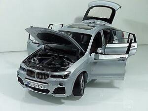 1:18 Paragon BMW x4 f26 2014 ANTRACIT