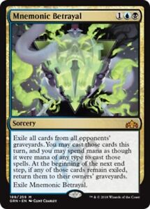 Mnemonic Betrayal x1 Magic the Gathering 1x Guilds of Ravnica mtg card
