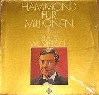 Klaus Wunderlich, Hammond für Millionen, G/VG++ LP (7027)