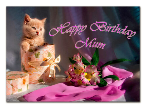 Large personalised BIRTHDAY CARD; with any age name or text; 017 Chose design