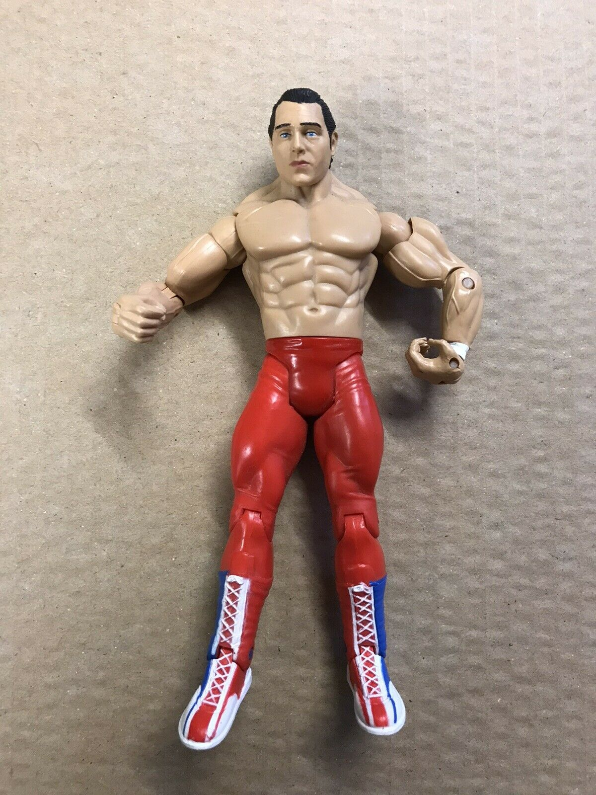 WWE WWF JAKKS SUPERSTARS CLASSIC DYNAMITE KID SERIES 20 Loose Bulldogs Njpw  wcw