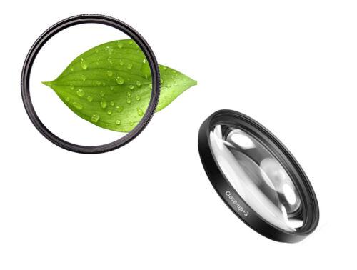 3 Close-Up Filter Macro Lens Zoom Lense Close Up 86 MM Diopter 86mm